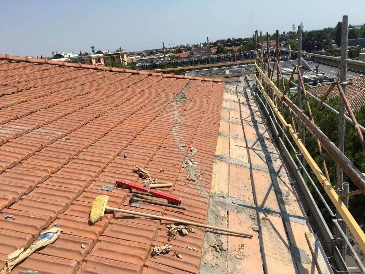 ricostruzione tetto cesena